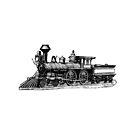 Vintage Locomotive 0713 by cartoon