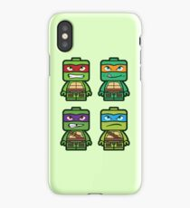 Chibi Ninja Turtles iPhone Case