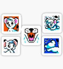 Leo / Kimba Pixel Stickers Sticker
