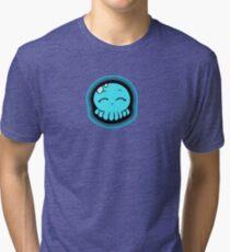 Happy Tako-Chan Tri-blend T-Shirt