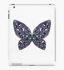 Whimsical Butterfly (Purple Black ver.) iPad Case/Skin