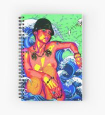 Reflective Willingness Spiral Notebook