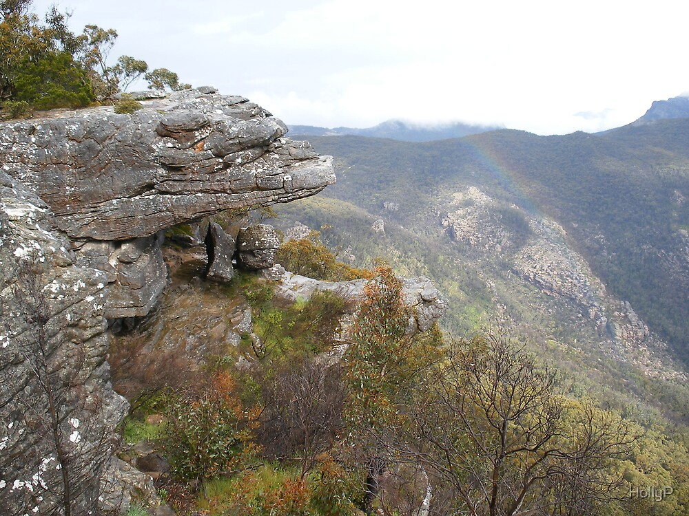 Overlooking the Grampians by HollyP