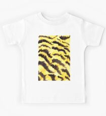 Animal fur yellow black Kids Clothes