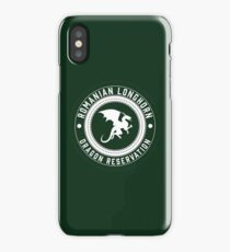 Dragon Sanctuary - Badge Size iPhone Case/Skin