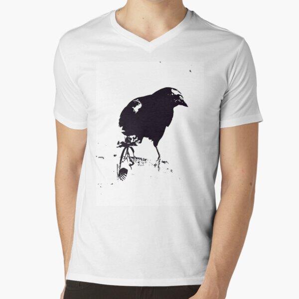THE WINDOW PEEKER V-Neck T-Shirt