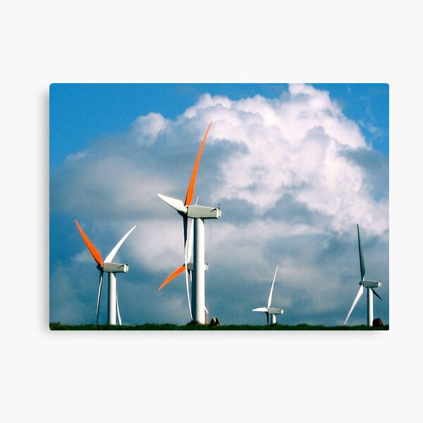 Big Island Windpower Canvas Print