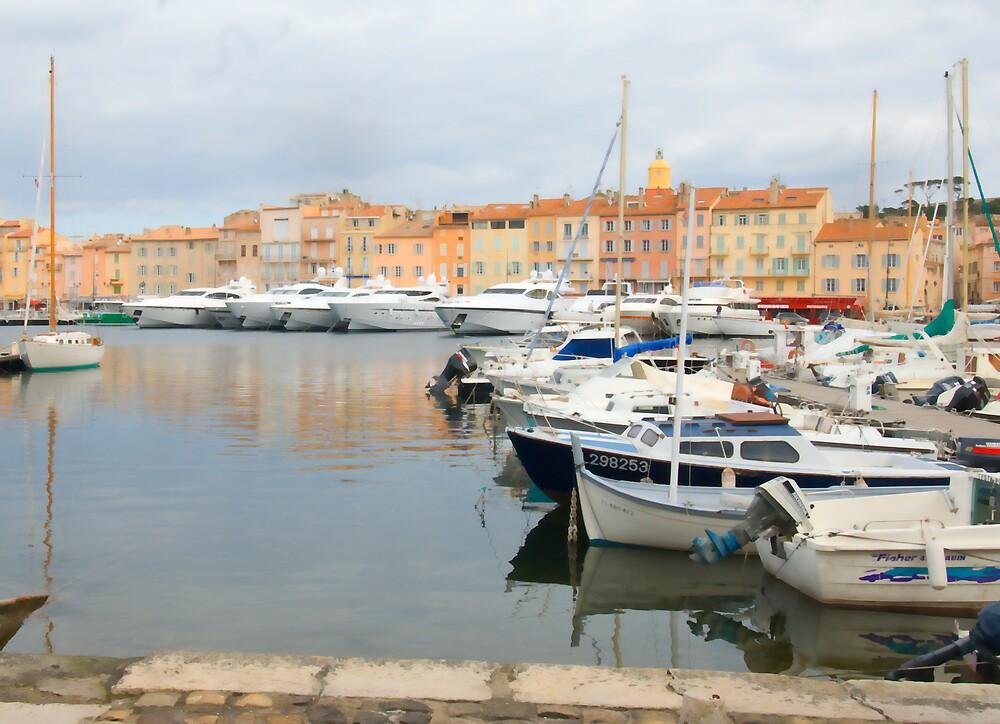 St Tropez by Sue Wickham