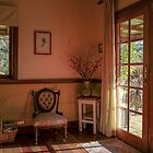 Sunlight through the Window by Clare Colins