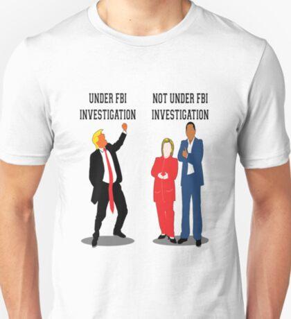 Whos Under Investigation T-Shirt