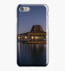 Stroll through the tranquil park iPhone Case/Skin
