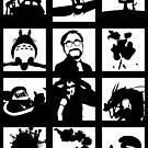 Tribute to Miyazaki by Ednathum