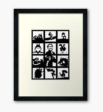 Tribute to Miyazaki Framed Print