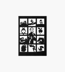 Tribute to Miyazaki Art Board