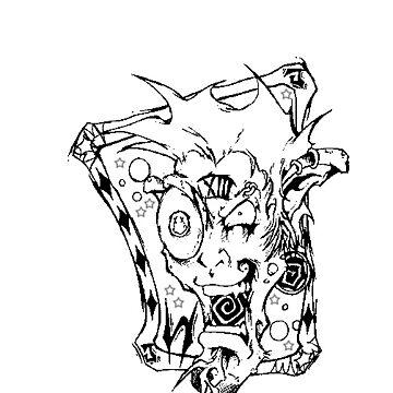 Twisted Joker black/white by PirateX223
