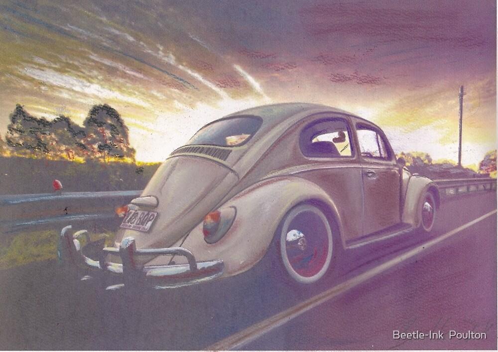 Sunset Strip by Sharon Poulton