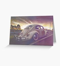 Sunset Strip Greeting Card