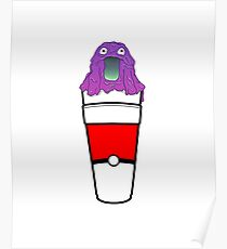 LEAN CUP GRIMER Poster
