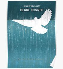 No011- Blade Runner minimales Filmplakat Poster