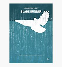 No011- Blade Runner minimales Filmplakat Fotodruck