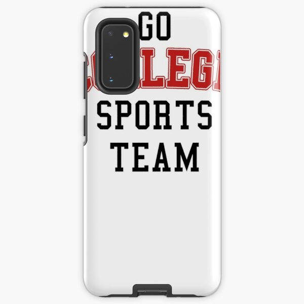 Go College Sports Team Red Samsung Galaxy Tough Case