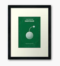 No013- Caddyshack minimal movie poster Framed Print