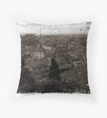 Avignon Rooftops Throw Pillow