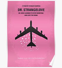 No025- Dr Strangelove minimal movie poster Poster