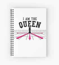I am the Queen Spiral Notebook
