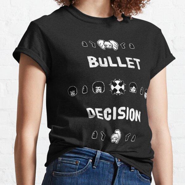 ReAct: Bullet Decision Pixel Characters Classic T-Shirt