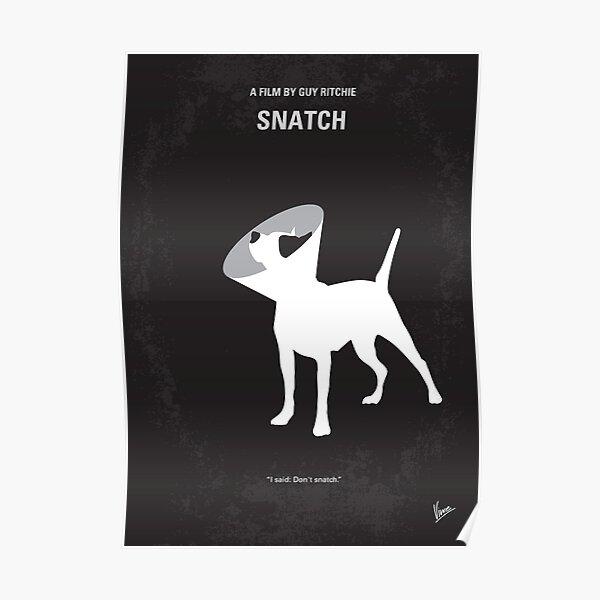 No079- Affiche de film minimale Snatch Poster