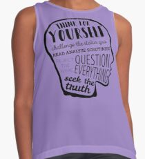 Think For Yourself Contrast Tank