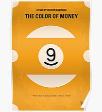 No089- The color of money minimal movie poster Poster