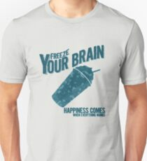 Freeze Your Brain - Heathers Unisex T-Shirt