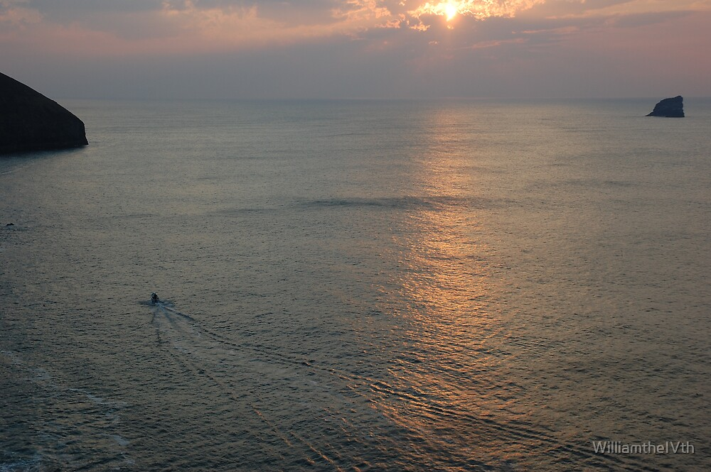 Lone fisherman by WilliamtheIVth
