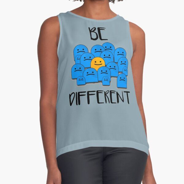 Be Different Sleeveless Top