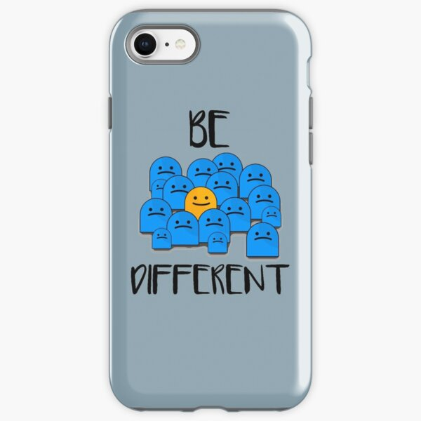Be Different iPhone Tough Case