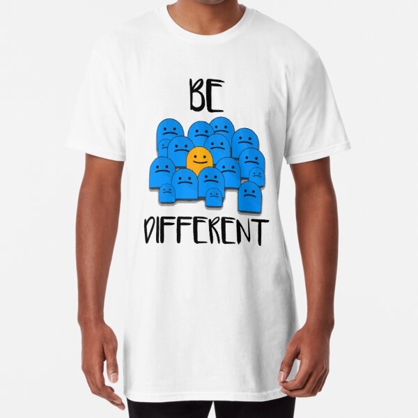 Be Different Long T-Shirt