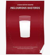 No138 - Inglourious Basterds minimales Filmplakat Poster
