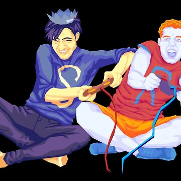 Archie and Jughead playing Video Games  by Dollop-Merlin