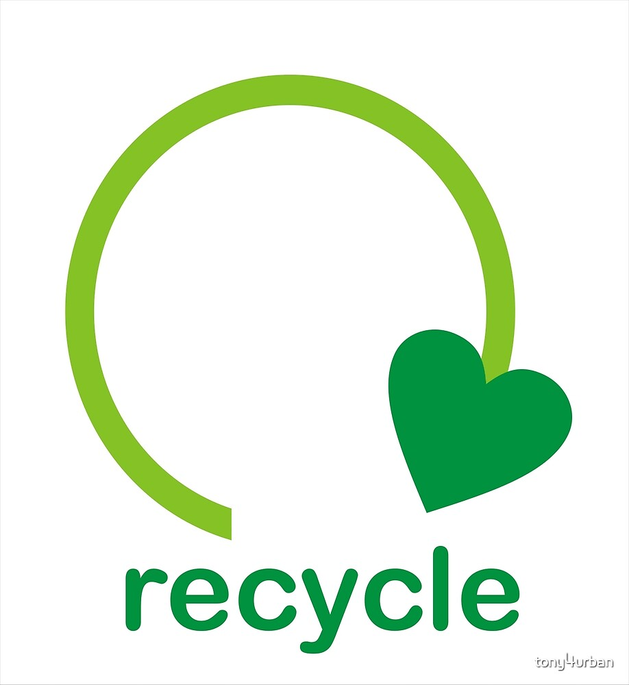 Recycle Sign by tony4urban