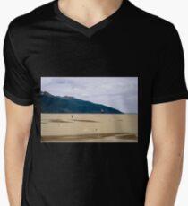 Wind surfing Alaska style Men's V-Neck T-Shirt