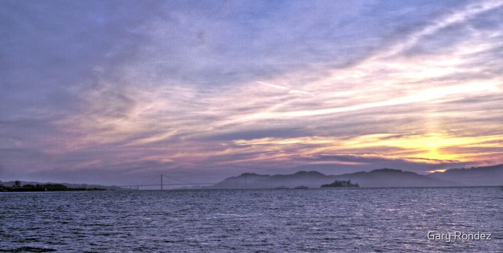 San Francisco Sunset by Gary Rondez