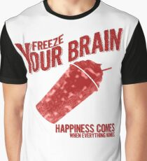 Freeze Your Brain - Heathers Graphic T-Shirt