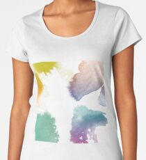 Water Colour Women's Premium T-Shirt