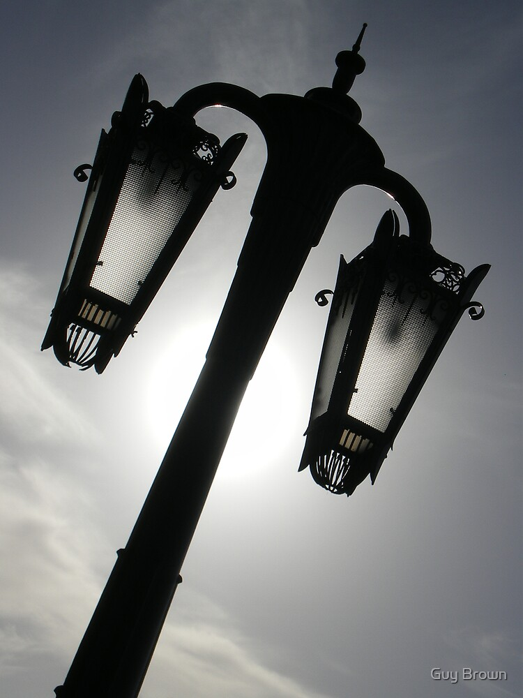 Darkness In A Lamp by Guy Brown