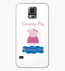 Peppapig, Grandmapig, Granny Pig of the Birthday Girl Case/Skin for Samsung Galaxy