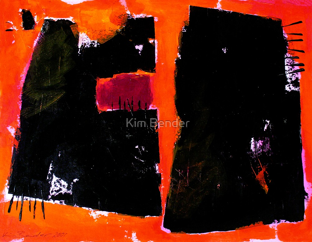 When the Earth is Burning by Kim Bender