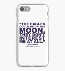 Ross Lyonisms #1 iPhone Case/Skin