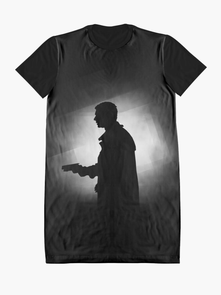 Alternative Ansicht von Blade Runner - Silhouette T-Shirt Kleid